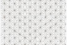 Embroidery patterns / Sashiko
