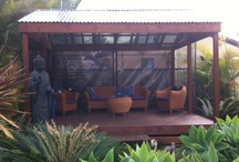 bali huts     / timber