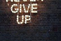 Where You go I go / never give up, enjoy your life