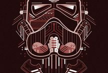 Sci-fi Vetor Illustration Showcase / This board contains creative designs and art created in vector format. The content here is primarily focused on high quality sci-fi illustrations.