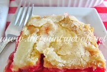 Fruit desserts / by Marilyn Benham