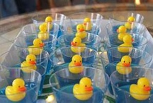 Duck baby shower  / Ideas and pics from the surprise ducky baby shower I planned for my friend Becky!