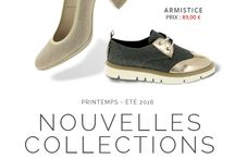 Collection printemps/été 2016 / baskets, escarpins, bottines d'été, la collection printemps/été est pleine de surprises cette année