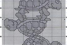 punto de cruz bb