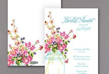 Bridal Shower Invitations / It's time to shower the bride with love! Let Persnickety help you shower her in style with a gorgeous bridal shower invitation. All designs available to order at Persnickety!
