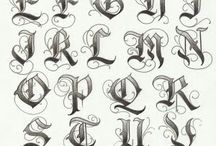 Calligraphy & Lettering / Guides, tutorials, and other great letters!