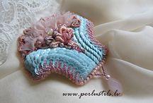 Embroidery of beads by Ligita Liberte / My jewelry