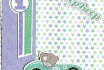 Baby boy scrapbook/journal