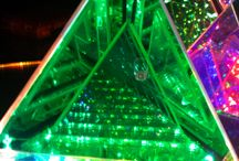 Dichroic Boro Glass and Infinity Mirror Effect / A grouping of ideas and such utilizing borocillicate glass (Boro) in various ways  / by Dichroic GlassMan