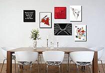 Pink&Red - aranżacje Emi Art / Aranżacje własne w odcieniach różu, czerwieni i fioletu.