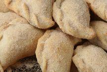 Cinnamon sugar empanadas
