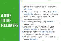 Vestige goes Digital / We are excited to announce that Vestige is going digital and you can follow us on all the social channels given below: Facebook- Vestige Marketing Pvt Ltd. Instagram- @Vestige_Official Twitter- @Vestigemkt Pinterest- VestigeOfficial Youtube- Vestige Media LinkedIn- Vestige Marketing Pvt Ltd. Wish you wellth. #VestigeGoesDigital