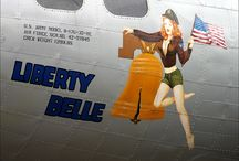 WWII Aircraft Nose Art / by Carol Morgan