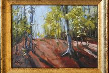 Joel Knapp / Joel uses lively color in an impressionistic style with oil paint to capture a feeling of time and place to share the blessings he feels with others.  He paints a wide variety of subjects, plein air and studio works, in the United States, Europe, and beyond.