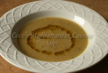 Soups & Stews / Homemade soup and stews recipes from Coco's Mediterranean Cuisine.