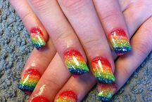hmm... rainbow for homecoming?