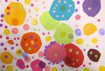 e: dots. lines. blobs. geometry