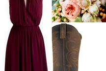 Bridesmaids / Board to give me ideas on wedding decor , dresses for bridesmaids , ect...., / by Elizabeth Rupert