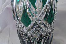 glass/ crystal/ pressed glass/ milk glass/ etc