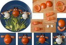 kreatív étel