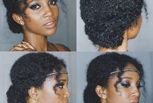mariage natural hair