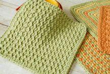 Crochet Washcloths & heatpads