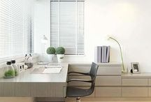 Home office, cabinets & Laundry