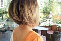 Penteados bagunçado bob