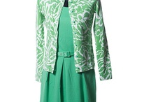 """How to be GREEN chic! / Commentary and Fashion from ChicMadeSimple's Tracy James.  For most, no color says """"Spring"""" more than fresh green. The vernal hue was seen on runways in a variety of shades, with one to flatter any skin tone and fit into every wardrobe. From preppy Kelly green to elegant emerald to refreshing mint...green is the color to shop for NOW."""