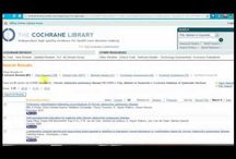 Cochrane Library Tutorials & Help / Tutorials on using the Cochrane Library database.  Thank you University of Alabama - Birmingham's Lister Hill Library! @UAB Lister Hill Library