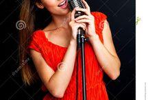 Singing photos