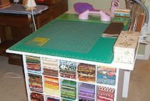 quilting table / rack