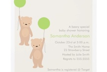 Katie's Bear Baby Shower