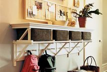 schoolbag storage