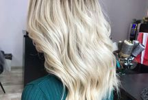Dark root blonde