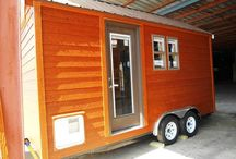 Tiny House Cabin / I found this tiny house cabin for sale on craigslist and thought a friend of mine would be interested in seeing it. Asking price is $18,000
