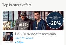 Local Offers / Find great location based offers from local and international brands in Finland