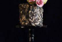 Wedding Cakes - Single and double tiered / Small but Stunning! / by Juliana Yin
