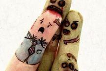 funny fingers / by Jessyca Garcia
