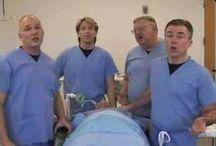 Nurse singers, songs, music, choirs