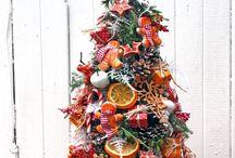 Новый год елки и венки