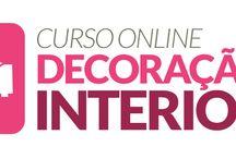 Curso online de decoração de interiores - com certificado e o mais completo da internet!