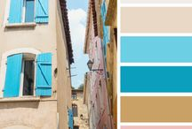 colour schemes / Pleasant combinations