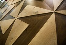 Great Vertical Statements - Up Close / Take a closer look at our Hakwood flooring.
