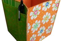 Quiltsy, Fabric Bowls, Baskets, Organizers from the Quiltsy Team on Etsy