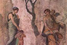 Frescoes , Petroglyphs,Pictographs & Rock Art / by nur kuran