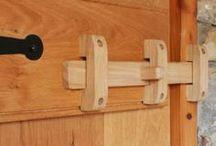 inchizatoare poarta lemn