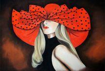 Margaret Zita Coughlan (Ireland) / Pittrice ed illustratrice in stile fashion