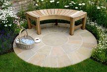 Garden Patio Design Idea