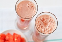 Juice and smoothies / by Tracey Robbins